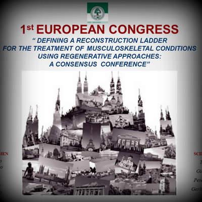 Primo Congresso Europeo sulla rigenerazione tissutale e le applicazioni biotecnologiche
