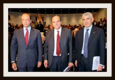 Alfano, Bersani e Casini, l'ABC della politica italiana