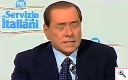 Berlusconi contumace al processo sui fondi neri Mediaset