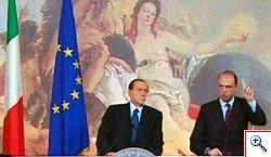 Berlusconi e Alfano - la riforma della GIUSTIZIA