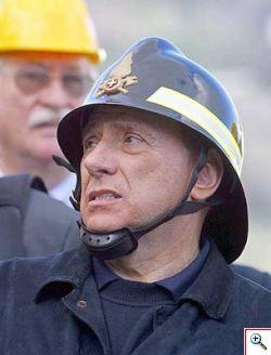 Silvio Berlusconi in Tribunale a Milano