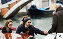 Brad Pitt e Angiolina Jolie a Venezia