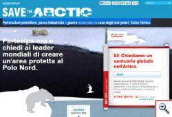 GREENPEACE - Per salvare l'Artico dobbiamo agire oggi.
