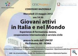 Convegno del CESC Project 23 maggio 2012
