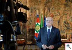 Napolitano: l'Italia dia di s� un'immagine di dignit�, di consapevolezza, di volont� costruttiva.