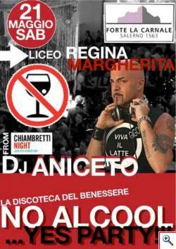 No alcol yes party - testimonial DJ Aniceto