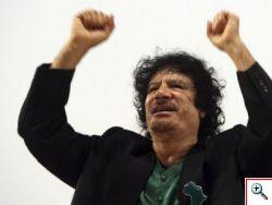 Gheddafi il discorso in TV