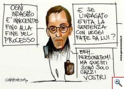 Niccolo'Ghedini al tribunale di milano