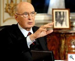 Giorgio Napolitano Presidente della Repubblica riconfermato.