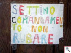 ITALIA: PAROLA D�ORDINE RUBARE � RUBARE � RUBARE