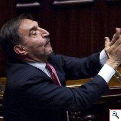 Bagarre in Parlamento
