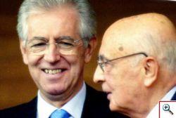 Napolitano nomina Mario Monti, Senatore a vita