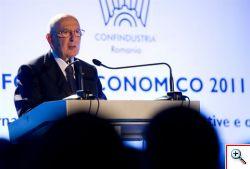 Giorgio Napolitano visita di Stato in Romania