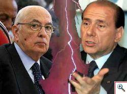 Napolitano VS Berlusconi