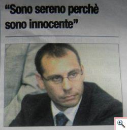 Pier Paolo Zaccai innocente