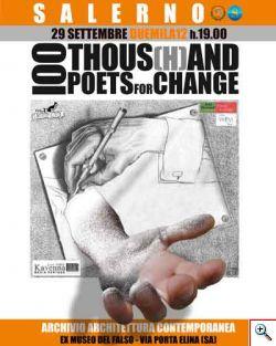 Con 100Thousand Poets for Change, la Campania palcoscenico della Poesia internazionale