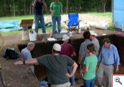 Ritrovamenti archeologici a Friedkin, Texas