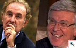 Michele Santoro VS Paolo Romani
