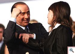 Berlusconi un p� matto un p� eroe