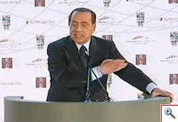 Silvio Berlusconi a Napolitano