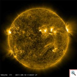 Violenta tempesta magnetica colpirà la Terra