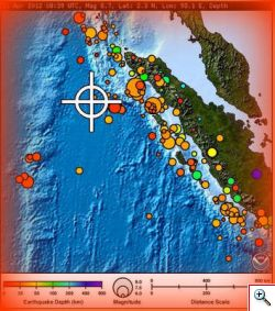 Forti scosse di terremoto devastano l'Indonesia. Allerta tsunami.
