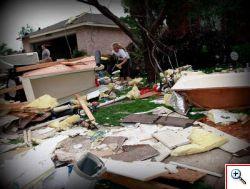 Violenti tornado devastano il Texas del nord.