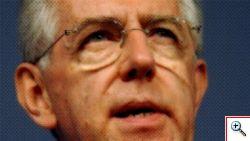 La Camera vota la fiducia alla manovra economica di Mario Monti